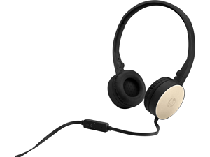 "HP H2800 Headset 1x3.5mm ""Black/Gold"""