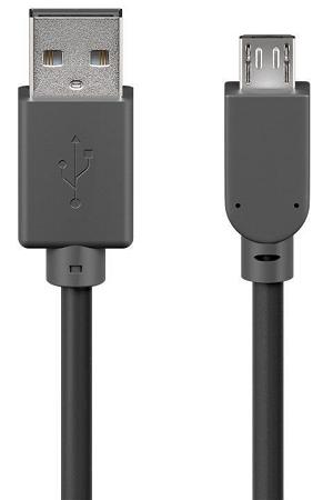 "Cabo GOOBAY USB2.0 (A«»Micro-B) 5.0Mts ""Black"""