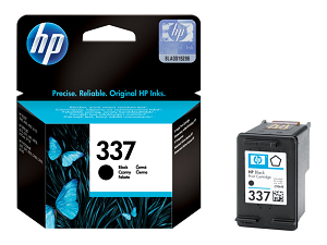 "Tinteiro HP nº 337 C9364EE (420pág@5%) ""Black"""