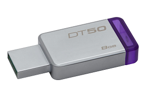 USB Flash Disk KINGSTON DataTraveler 50 8Gb USB3.0