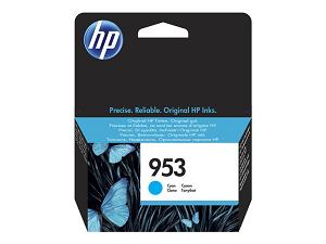 """Tinteiro HP nº 953 F6U12AE (700pág@5%) """"Cyan"""""""