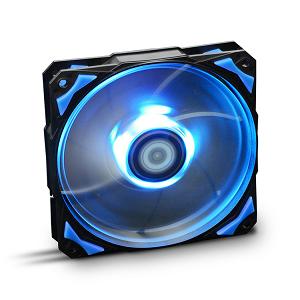 """Cooler para Caixas NOX Hummer H-FAN LED 120x120x25mm """"Blue"""""""