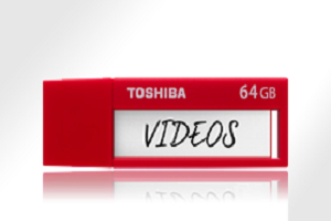 """USB Flash Disk TOSHIBA U302 TransMemory 64Gb USB3.0 """"Red"""""""