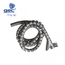"GSC EVOLUTION Organizador de Cabos 25mm 2.50Mts ""Grey"""