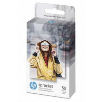 Papel HP Sprocket Photo Paper ZINK Sticky-Backed 50 Folhas