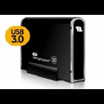 "Caixa Externa 1Life hd:lightspeed3 3.5"" SATA«»USB3.0 ""Blac"