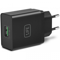 Transformador 1LIFE Quick Charge 3.0 (3.6~6.5)(6.5~9)(9~12)