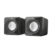 Colunas TRUST Ziva sistema 2.0 com 3 Watts RMS USB powered