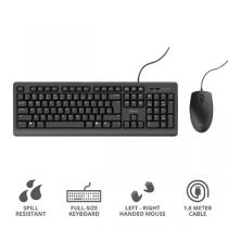 """Kit TRUST PRIMO USB (Teclado + Rato) """"Black"""""""