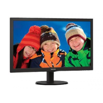 "Monitor PHILIPS LED 24"" 243V5LHAB FullHD,1ms,VGA~DVI-D~HDMI"