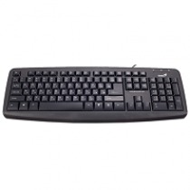 "Teclado GENIUS KB-110X Value Desktop USB ""Black"""
