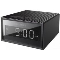 Coluna CREATIVE Chrono Splash-Proof Bluetooth FM Radio Clock