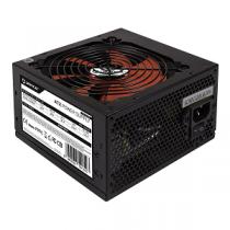 Fonte Alimentação UNYKA 600W  Gaming 120mm Black+Red Fan