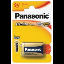 Pilhas PANASONIC Alcalinas 9V-6LR61(1 unidade)