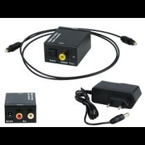 Conversor Audio Digital (Toslink«»2xRCA)