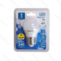 Lâmpada LED E27 3W 225lm 3000K