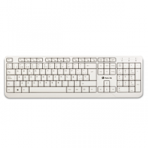 "Teclado NGS SPIKE Wired USB PT ""White"""