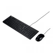 """Kit ASUS U2000 Teclado + Rato USB """"Black"""""""