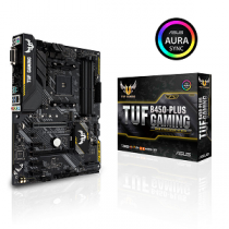 Motherboard ASUS TUF B450-PLUS GAMING SktAM4 4xDDR4/2666 1xM