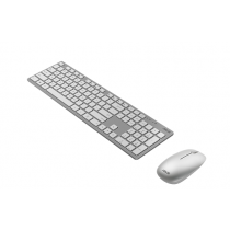 "Kit ASUS W5000 Wireless Keyboard and Mouse Set ""White"""