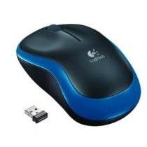 """Rato LOGITECH M185 Wireless Nano-Reciver """"Black/Blue"""""""