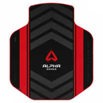 """Tapete Gaming ALPHA GAMER Decan Extended """"Red"""""""
