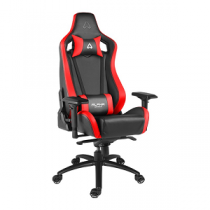 "Cadeira Gaming ALPHA GAMER Polaris Racing ""Black/Red"""