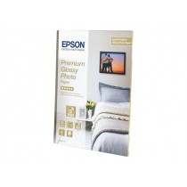 Papel EPSON Premium Glossy Photo A4 2x15Fls 255gr S042169
