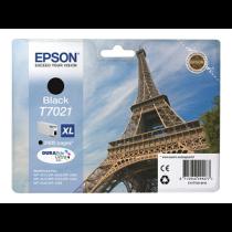 "Tinteiro EPSON WorkForce Pro XL T7021 (2.4Kpág@5%) ""Black"""