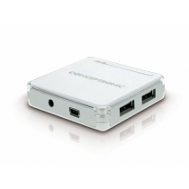 "Connectivity CONCEPTRONIC HUB 7-Port USB2.0 ""White"""