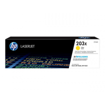 "Toner HP Color LaserJet nº 203X CF542X (2.5Kpág@5%) ""Yellow"""