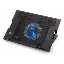 "Base Ventilada CONCEPTRONIC THANA até 17"" ""Black"""