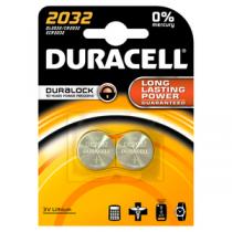 Pilha DURACEL Lithium 3V CR2032 (2 unidades)