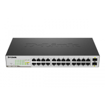 D-LINK DGS-1100-26 Gigabit Smart Managed Switch 24-Port+2-SF