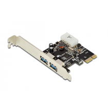 Placa DIGITUS PCI-E 2-Port USB3.0