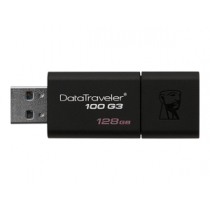 "USB Flash Disk KINGSTON DataTraveler 100 128Gb USB3.0 ""Black"