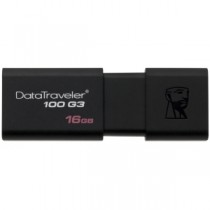 "USB Flash Disk KINGSTON DataTraveler 100 16Gb USB3.0 ""Black"""