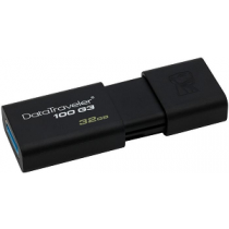 "USB Flash Disk KINGSTON DataTraveler 100 32Gb USB3.0 ""Black"""