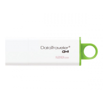 "USB Flash Disk KINGSTON DataTraveler G4 128Gb USB3.0 ""Green"""