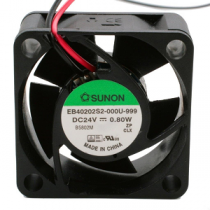 Cooler SUNON 40x40x20mm Slide Bearing 24VDC 2 Wires