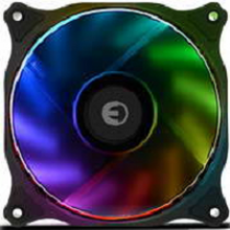 Cooler para Caixas EUROTECH EPIC RGB FAN PWM 120x120x25mm