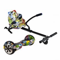 STOREX UrbanGlide Hoverboard 65 Lite Multicolor + Kart Pilot