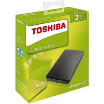 "Disco Externo TOSHIBA Canvio Basics 2Tb 2.5"" USB3.0"
