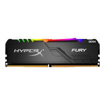 DIMM 16Gb DDR4 PC-2666 CL16 KINGSTON HyperX Fury RGB
