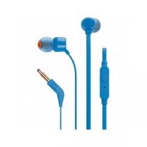 """Headset JBL T110 In-Ear Headphones + Mic """"Blue"""""""