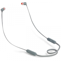 "Headset JBL T110BT BlueTooth In-Ear Headphones + Mic ""Grey"""