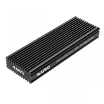 "Caixa Externa MAIWO SSD M.2 PCIe NVMe«»USB3.1 Type-C ""Black"""