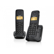 "Telefone SIEMENS Gigaset A120 Duo ""Black"""
