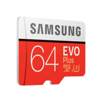 Micro Secure Digital Card SAMSUNG Class10 EVO Plus 64Gb (SD)