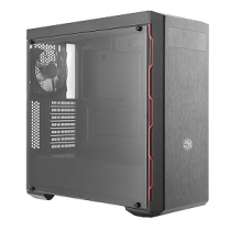 """Caixa COOLERMASTER MidiTower MASTERBOX MB600L """"Black Red"""""""